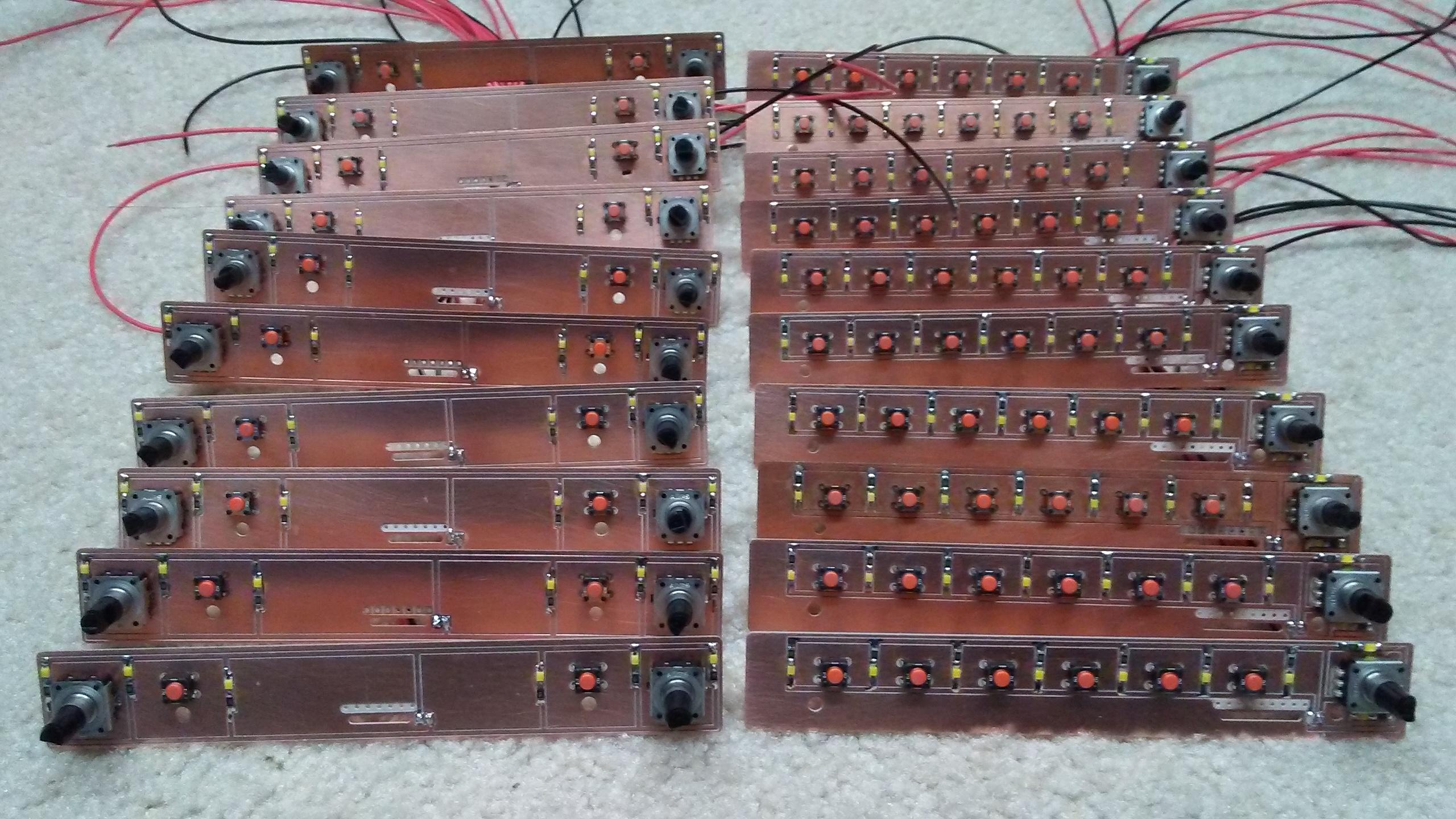 Display Unit Internal PCB
