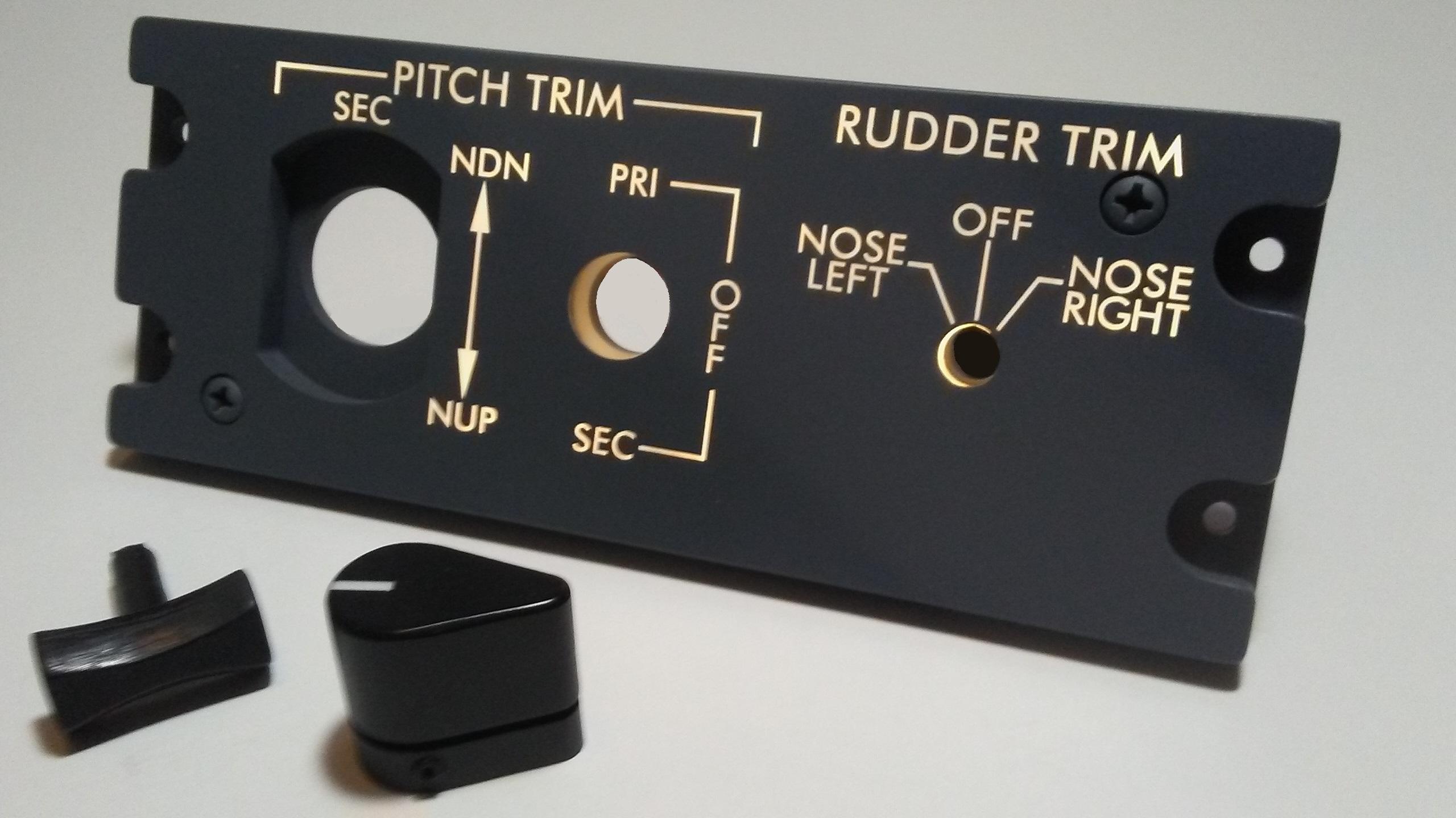 Pitch Trim Panel