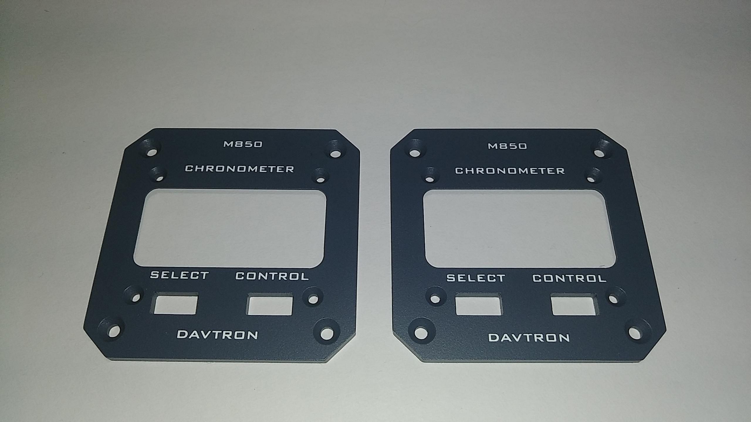 Chronometer Plate